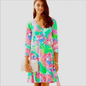 Lilly Pulitzer Emilia Wrap Dress.